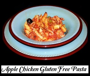 Apple Chicken Gluten Free Pasta
