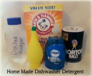 Home Made Dishwasher Detergent