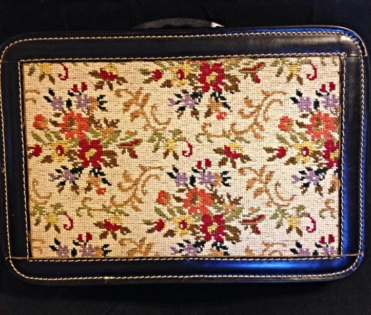 Savoy Strata Case Pat. Pending Leather Carpet Briefcase 1