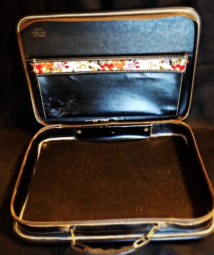 Savoy Strata Case Pat. Pending Leather Carpet Briefcase 5