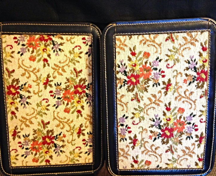 Savoy Strata Case Pat. Pending Leather Carpet Briefcase 8
