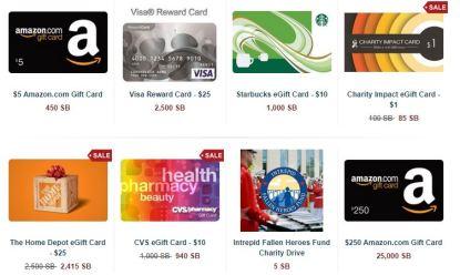 Swag Bucks Gift Cards